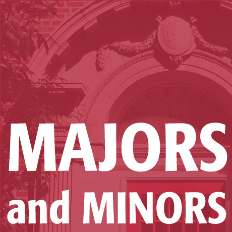 Majors and Minors image; click to access Majors and Minors page