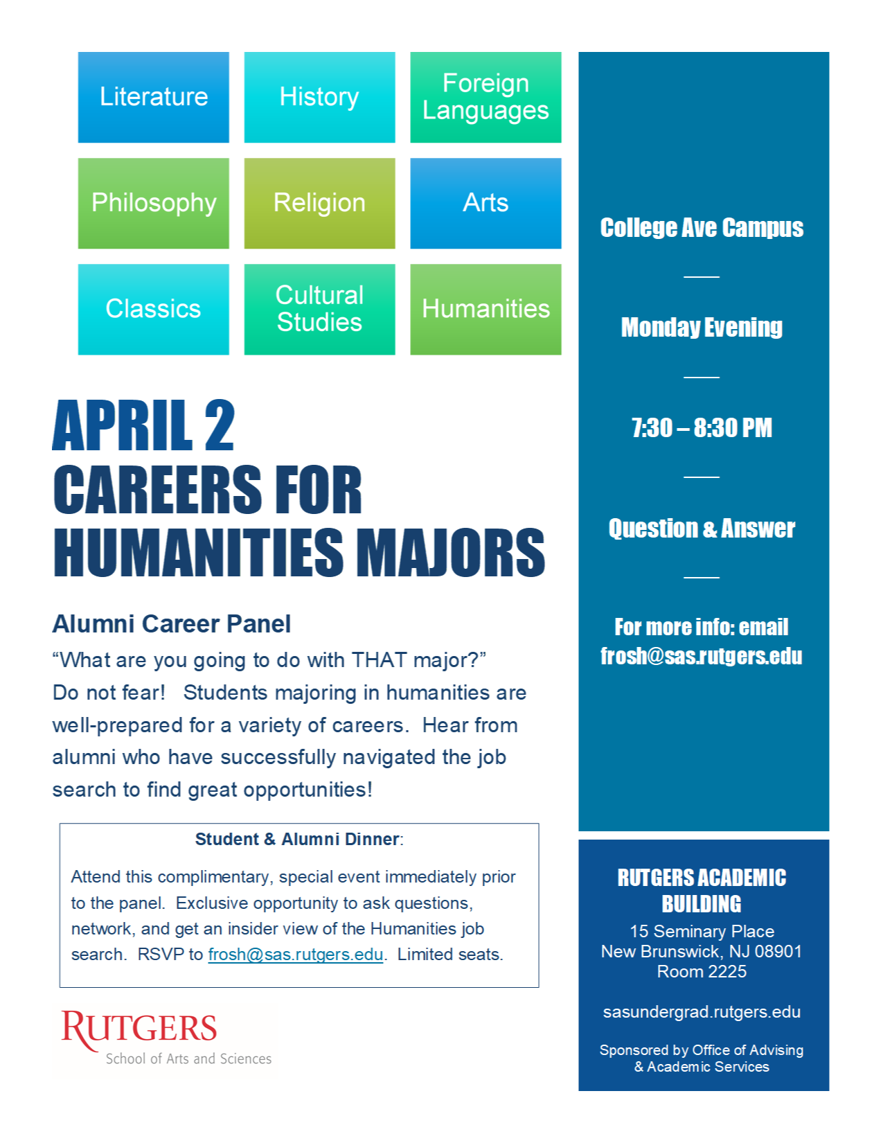 April 2 Humanities