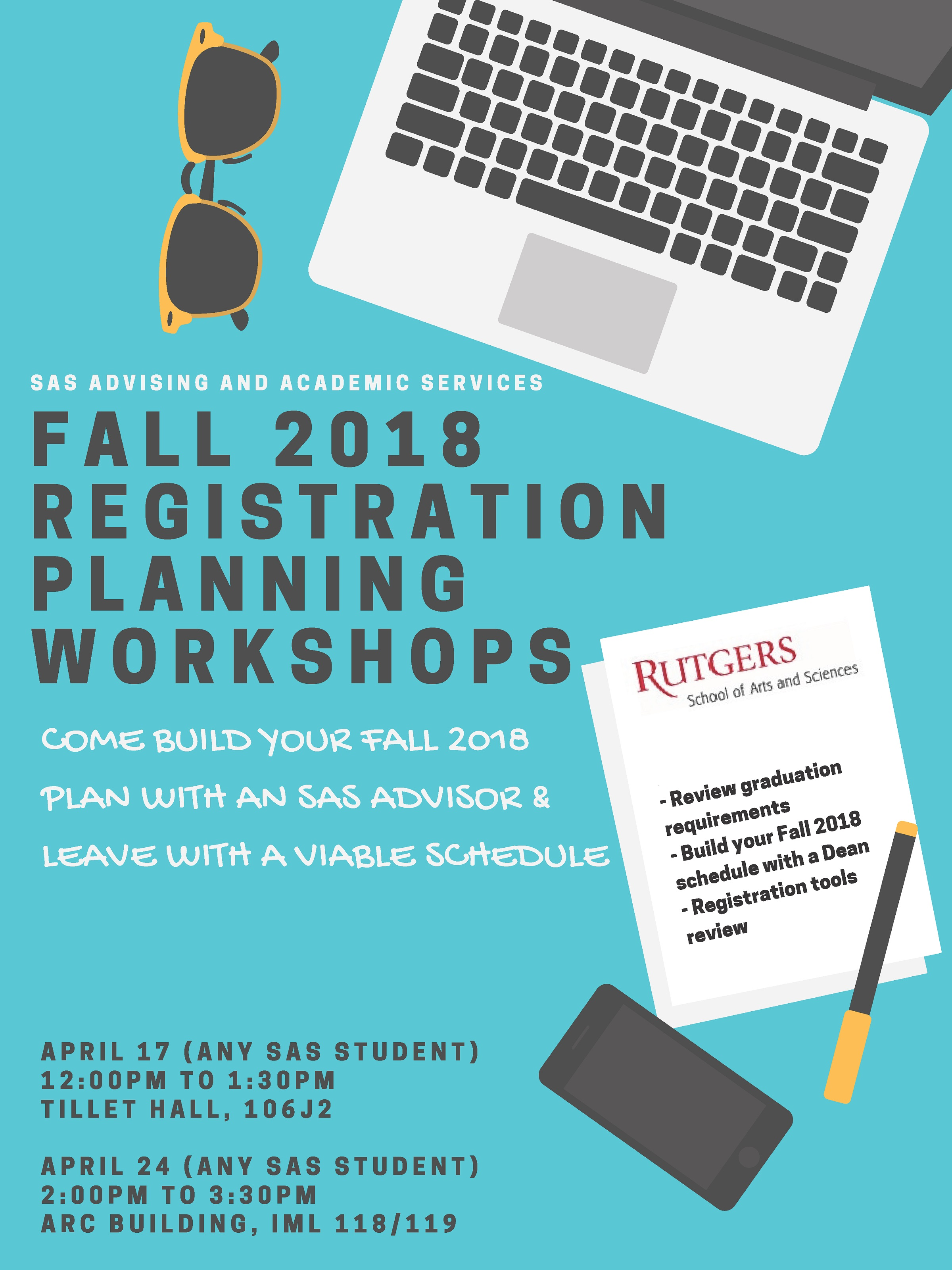 Registration Planning Workshops