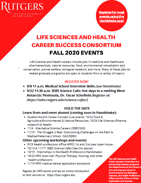 Life Sciences and Health Career Consortium