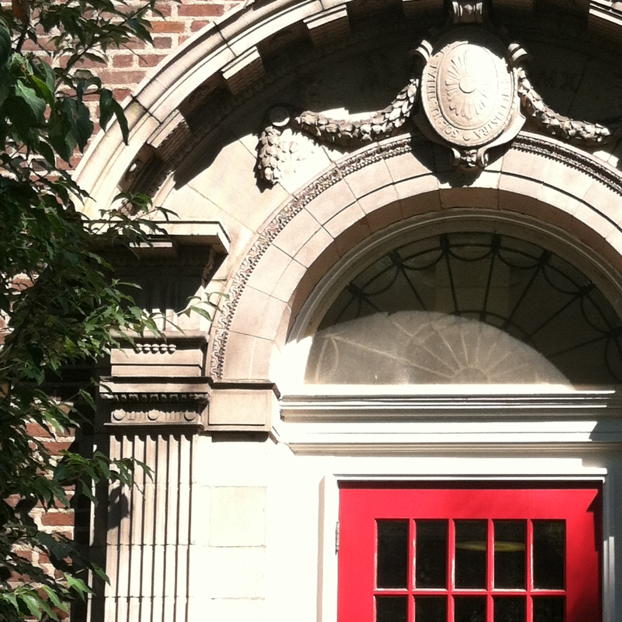Milledoler Hall door
